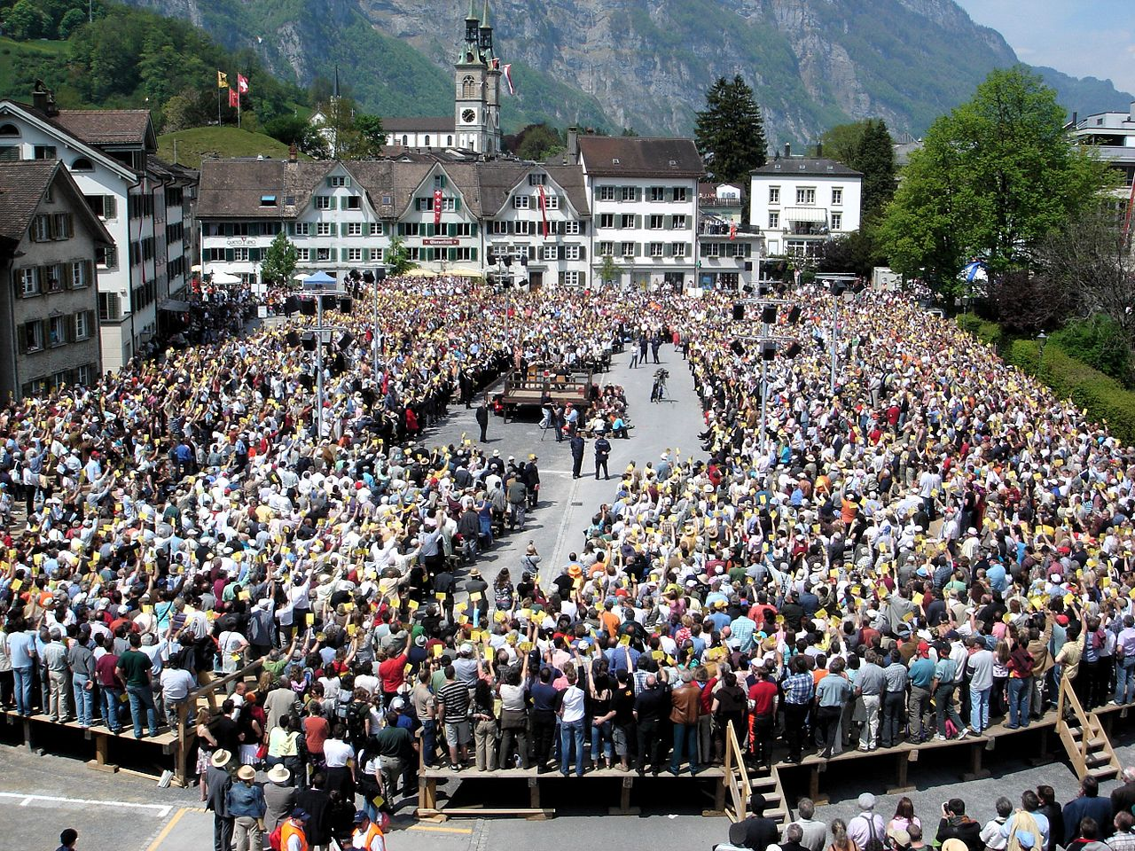 Политическое устройство Швейцарии