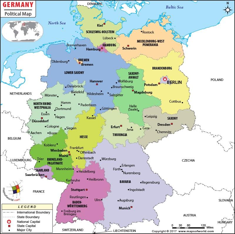 Политическое устройство Германии